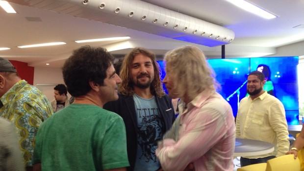 George Israel, Rodrigo Sha e Marcos Vale são atrações da Rock Street (Foto: Carolina Caldas / Gshow)