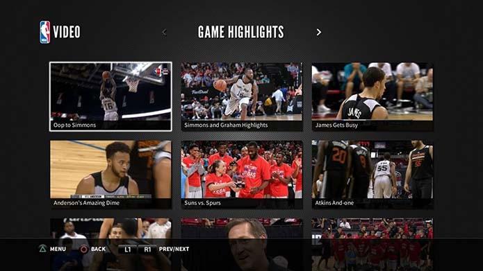NBA Game Time (Foto: Reprodução/Murilo Molina)