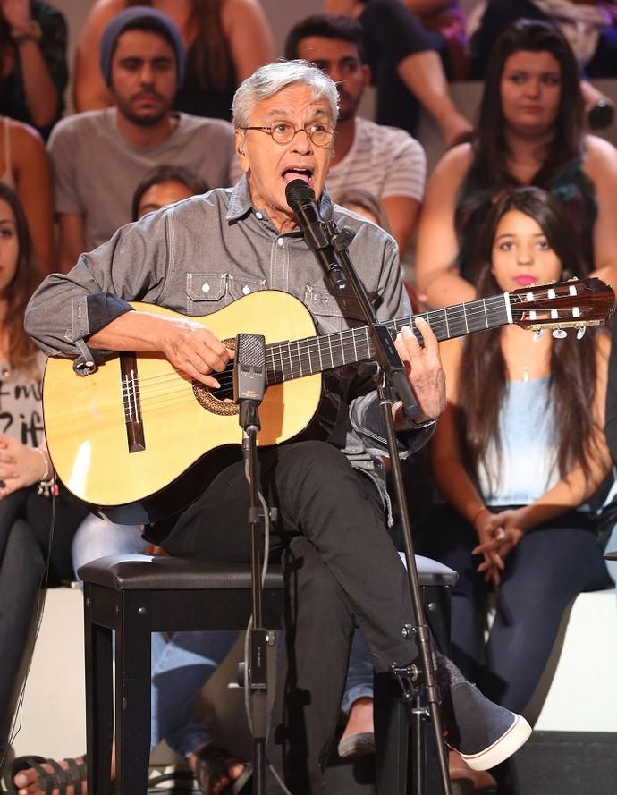 Caetano contou que não imaginava fazer tanto sucesso (Foto: Carol Caminha/Gshow)