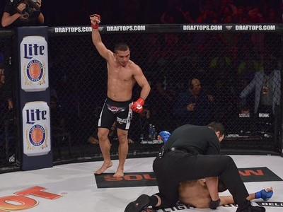 Patrício Pitbull Daniel Weichel Bellator MMA (Foto: Reprodução/Twitter)