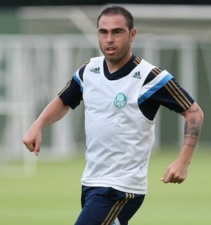 Bruno César Palmeiras (Foto: Cesar Greco/Ag Palmeiras/Divulgação)