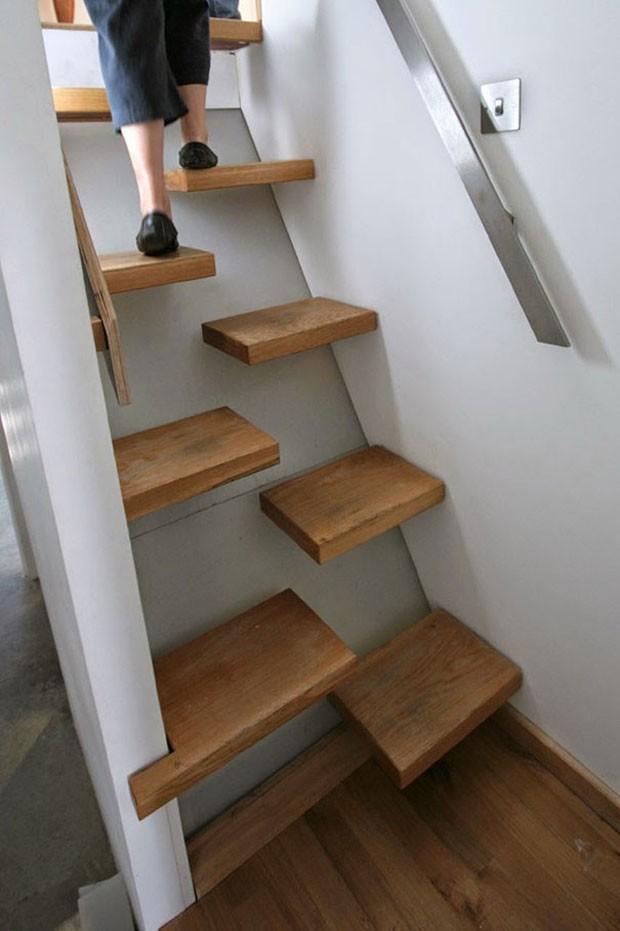 21 ideias criativas para escadas casa vogue ambientes for Escaleras 8 pasos