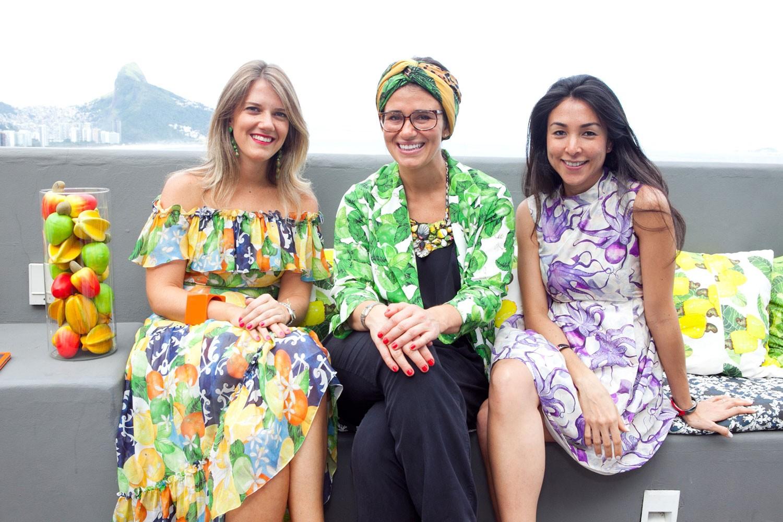 O trio fundador da Isolda (Foto: Divulgação)