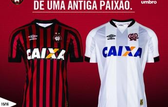 Atlético-PR apresenta as novas camisas para o Brasileirão de 2015