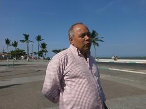 Secretario de Turismo (Foto: Marina Pereira/G1)