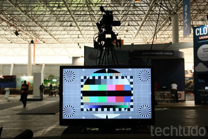 Muitos preparativos ainda estavam em conclusão nesse primeiro dia de Campus Party (Foto:  Foto: TechTudo/Renato Bazan)