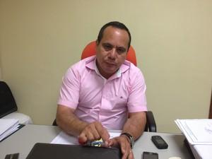 Regiclaudio Silva, diretor do Hospital de Emergências (Foto: John Pacheco/G1)