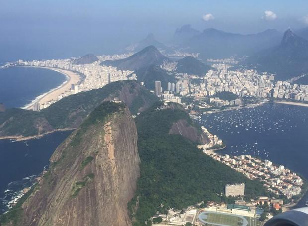 Rio tem domingo com tempo estável (Foto: Bernardo Portugal/ TV Globo)