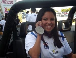 Edênia Garcia, nadadora paralímpica (Foto: Jocaff Souza/Globoesporte.com)