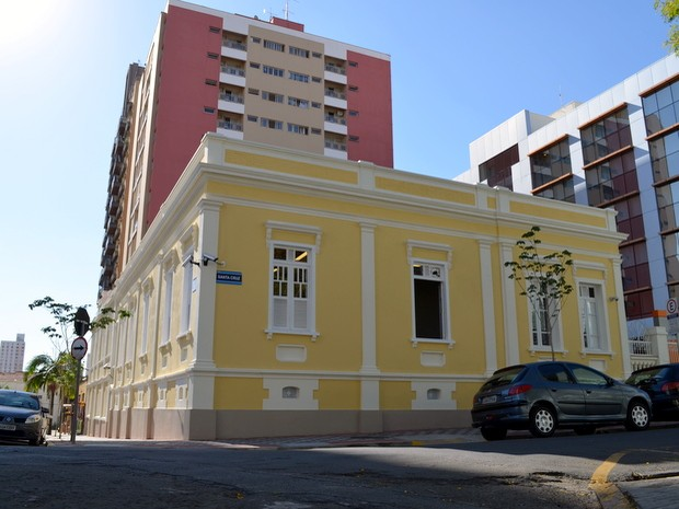 Casarão que hospedava Oswald de Andrade em Piracicaba é revitalizado (Foto: Leon Botão/G1)