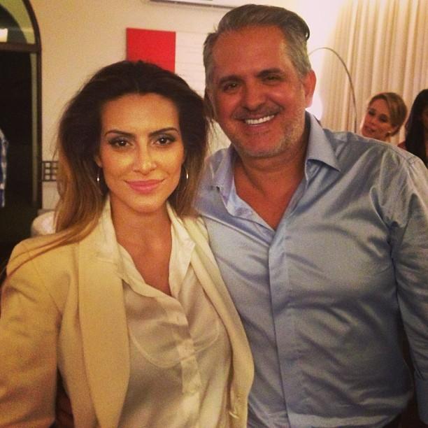 Cleo Pires com Orlando Morais (Foto: Instagram/ Reprodução)