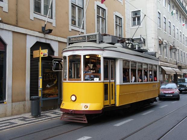 Elétrico Lisboa (Foto: Arquivo Pessoal)