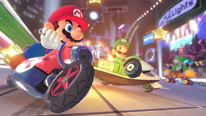 Mario Kart 8 (Foto: Divulgação/Nintendo)