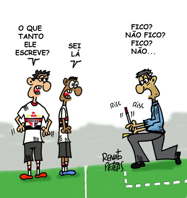 E agora, Osorio? - charge Peters