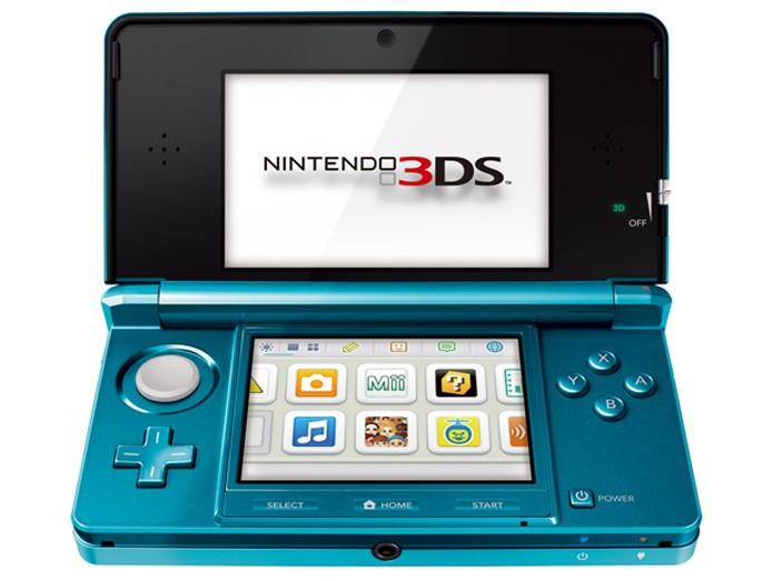 O primeiro modelo do Nintendo 3DS (Foto: Divulgação) (Foto: O primeiro modelo do Nintendo 3DS (Foto: Divulgação))