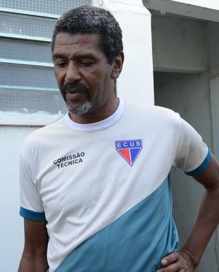 Jaques Carvalho técnico Ecus Suzano (Foto: Cairo Oliveira)