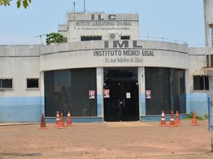 Instituto Médico Legal (IML), em Porto Velho (Foto: Toni Francis/G1)