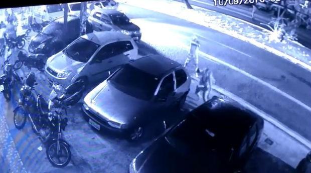 Homem atirou em casal na saída de boate (Foto: Reprodução/Inter TV Cabugi)