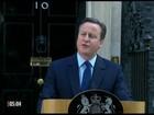 Primeiro-ministro britânico anuncia renúncia após resultado do referendo