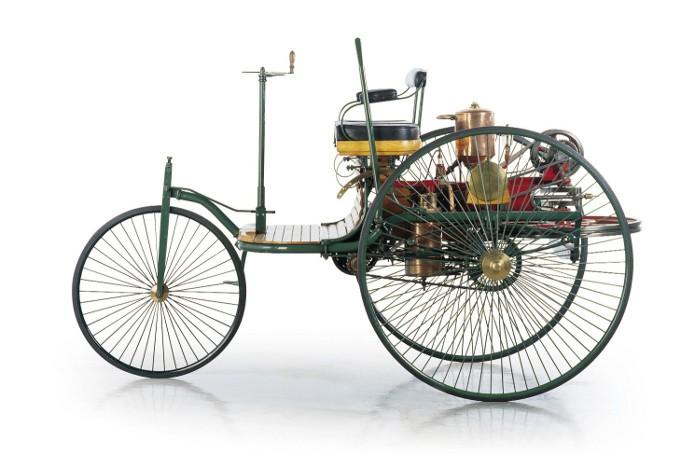 Modelo da patente de Karl Benz (Foto: Reprodução / Wikipedia)