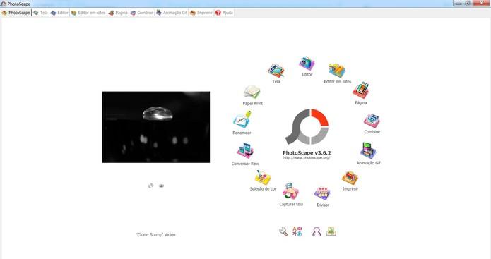 Photoscape possui mais ferramentas de edição do que o Picasa (Foto: Reprodução/Photoscape)