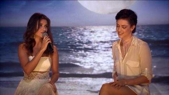 Noites de Luar: Sophia Abrahão e Paula Fernandes encerram especial de verão