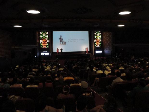 Cine PE voltou ao São Luiz, onde foi lançado, em 1997.  (Foto: Katherine Coutinho / G1)