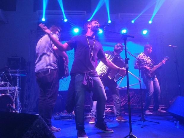 Os Gonzagas é a atração musical deste sábado na Via Folia (Foto: Paulinho Moura/Divulgação)