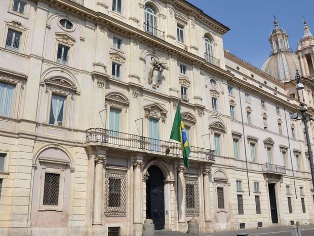 Embaixada do Brasil na Itália (Foto: Divulgação/Itamaraty)