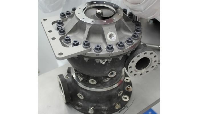 Bomba de combustível do motor do foguete feita com impressora 3D (Foto: Divulgação/NASA)