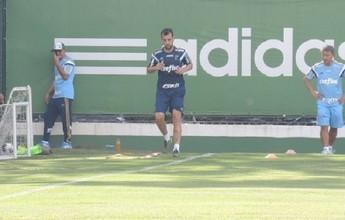 Em recuperação, Edu Dracena e Cleiton Xavier treinam em campo