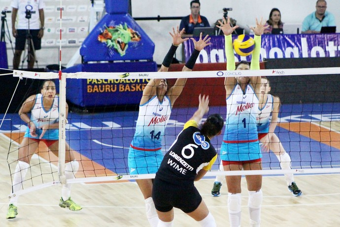 Osasco x São Bernardo, vôlei feminino, Jogos Abertos (Foto: Divulgação / Cristiano Zanardi / JAI)