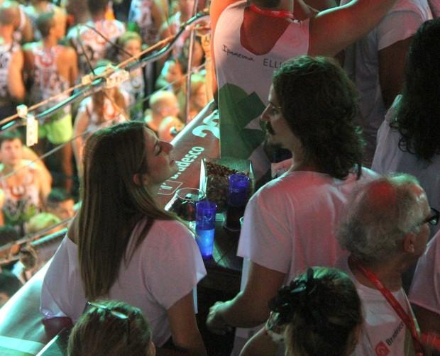 Fernanda Paes Leme em Salvador (Foto: Daniel Delmiro/AgNews)