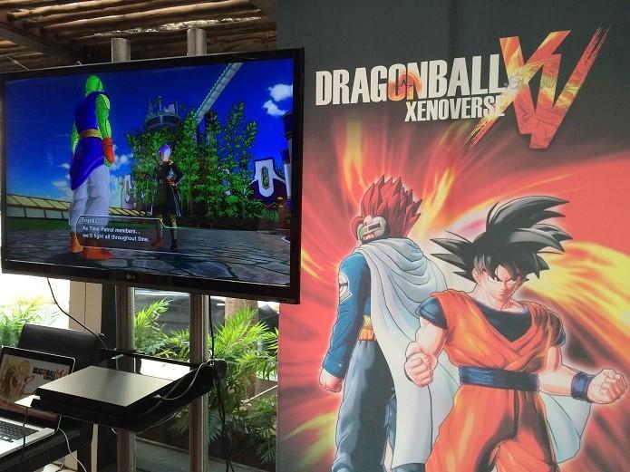 Xenoverse disponível em evento promovido pela Bandai, em São Paulo (Foto: Reprodução/Victor Teixeira)