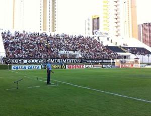 Torcida do ABC (Foto: Augusto Gomes/GloboEsporte.com)