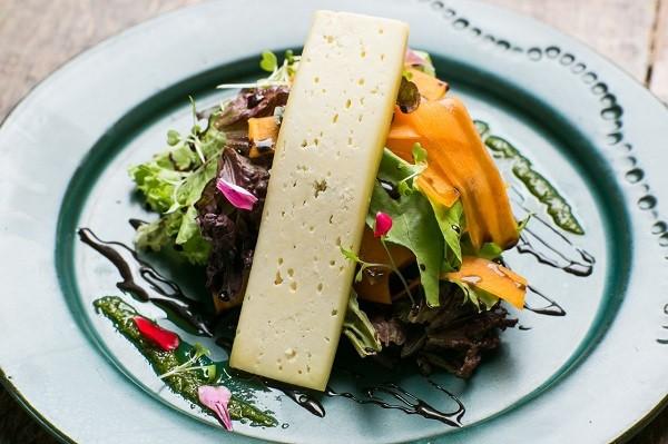 Salada de Abóbora com queijo e mel  (Foto: Divulgação )