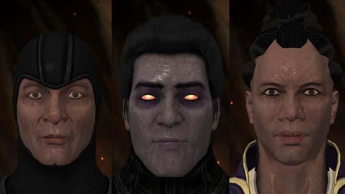 Mortal Kombat X: mod remove máscaras dos lutadores do game (Foto: Reprodução/Murilo Molina)