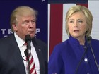 Hillary Clinton e Donald Trump se enfrentam no primeiro debate