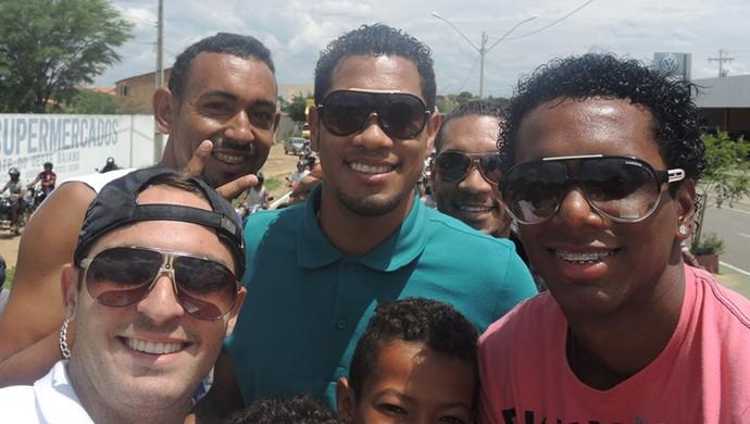 Hernane Flamengo férias (Foto: Cahê Mota)