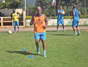 Hércules, atacante do Vitória-ES (Foto: Ana Carolini Mota/Vitória FC)