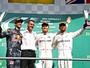 """Hamilton vê """"jogo aberto"""" pelo título,  e Nico encara cada GP como uma final"""