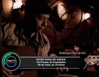 """""""Show Rosa de Saron"""" (Foto: Divulgação)"""