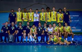 Invicta, seleção masculina conquista o Sul-Americano Sub-23 na Colômbia