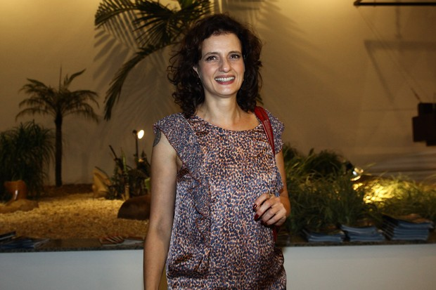 Denise Fraga em premiação em São Paulo (Foto: Manuela Scarpa/ Foto Rio News)