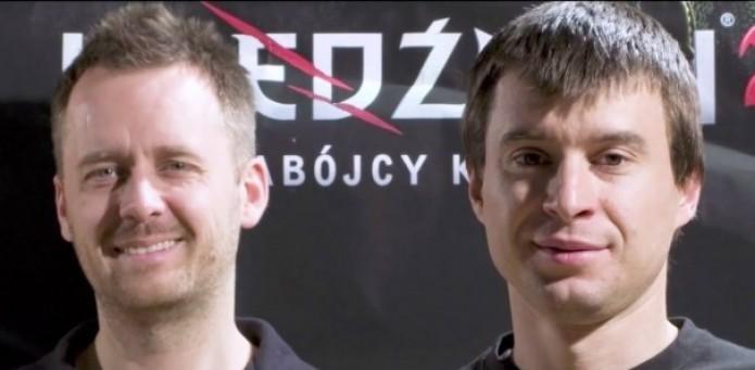 Marcin Iwinski e Michal Kicinski: os fundadores da CD Projekt Red (Foto: Reprodução/Youtube)