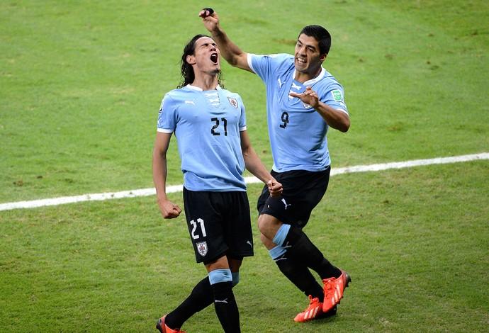 Suarez e Cavani, Uruguai (Foto: Getty Images)