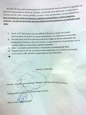 documento (Foto: Maiana Belo/G1)