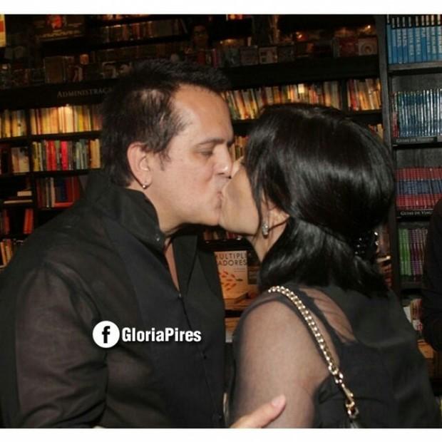 Orlando Morais e Glória Pires (Foto: Reprodução/Instagram)