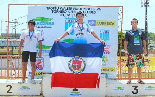 natação amazonas (Foto: Frank Cunha Globo Esporte)