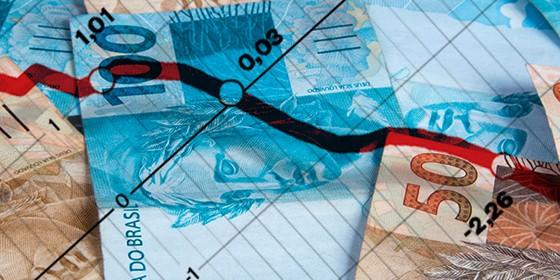 Notas de dinheiro - PIB (Foto: montagem (foto: ThinkstockPhotos))